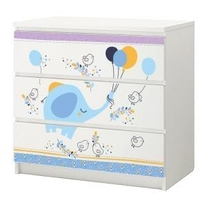 sticker set meubel ikea malm