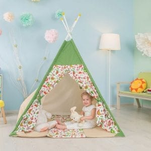 country groen tipi tent speeltent polini kids 4620031183563